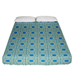 Df Shinna Dipti Fitted Sheet (queen Size) by deformigo