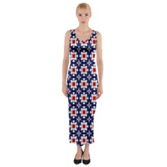 Df Batticalloa Fitted Maxi Dress by deformigo