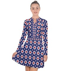 Df Batticalloa Long Sleeve Panel Dress by deformigo