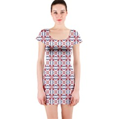 Df Wishing Well Short Sleeve Bodycon Dress by deformigo