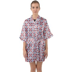 Df Wishing Well Half Sleeve Satin Kimono  by deformigo