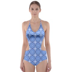 Df Alabaster Cut-out One Piece Swimsuit by deformigo