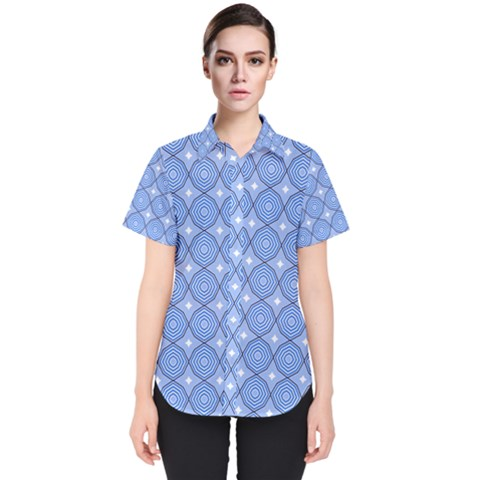 Df Alabaster Women s Short Sleeve Shirt by deformigo