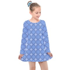 Df Alabaster Kids  Long Sleeve Dress by deformigo