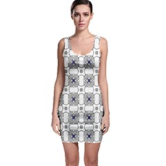 Df Snowland Bodycon Dress by deformigo