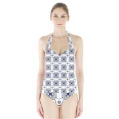 Df Snowland Halter Swimsuit by deformigo