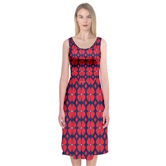 Df Clematis Midi Sleeveless Dress by deformigo