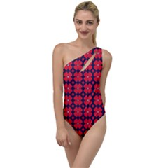 Df Clematis To One Side Swimsuit by deformigo
