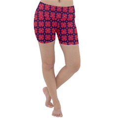 Df Clematis Lightweight Velour Yoga Shorts by deformigo