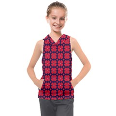 Df Clematis Kids  Sleeveless Hoodie by deformigo