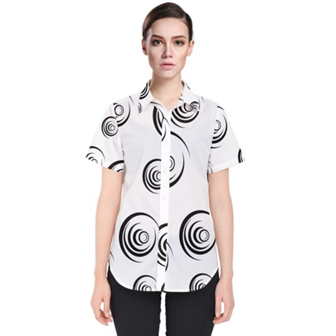 Rounder Ii Women s Short Sleeve Shirt by anthromahe
