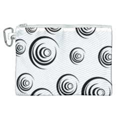 Rounder Ii Canvas Cosmetic Bag (xl)