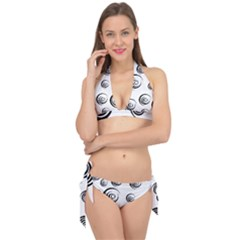 Rounder Ii Tie It Up Bikini Set by anthromahe