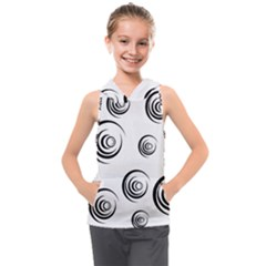 Rounder Ii Kids  Sleeveless Hoodie by anthromahe