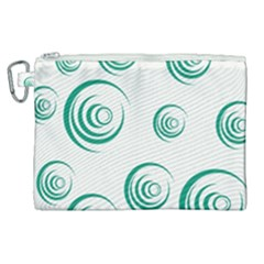 Rounder V Canvas Cosmetic Bag (xl)
