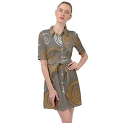 Rounder Vi Belted Shirt Dress