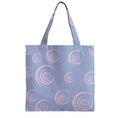 Rounder Vii Zipper Grocery Tote Bag