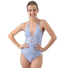 Rounder Vii Halter Cut-out One Piece Swimsuit