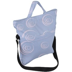 Rounder Vii Fold Over Handle Tote Bag