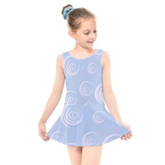 Rounder Vii Kids  Skater Dress Swimsuit