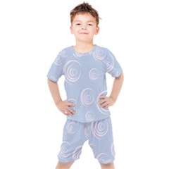 Rounder Vii Kids  Tee And Shorts Set by anthromahe