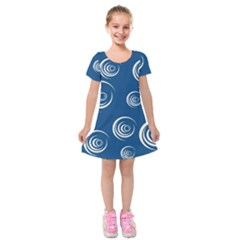 Rounder Viii Kids  Short Sleeve Velvet Dress