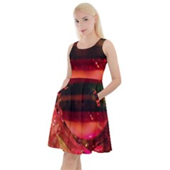 Christmas Tree  1 6 Knee Length Skater Dress With Pockets