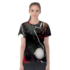 Christmas Tree  1 20 Women s Sport Mesh Tee