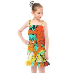 Fragrance Of Kenia 8 Kids  Overall Dress