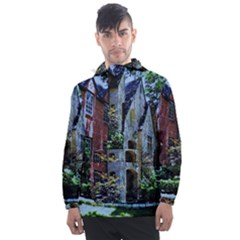 Hot Day In Dallas 53 Men s Front Pocket Pullover Windbreaker by bestdesignintheworld