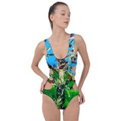 Coral Tree 2 Side Cut Out Swimsuit