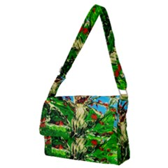 Coral Tree 2 Full Print Messenger Bag (m) by bestdesignintheworld