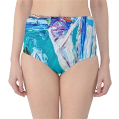 Marine On Balboa Island Classic High-waist Bikini Bottoms by bestdesignintheworld