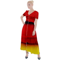 Colors And Fabrics 7 Button Up Short Sleeve Maxi Dress