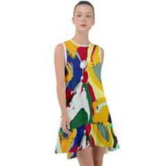 Africa As It Is 1 1 Frill Swing Dress