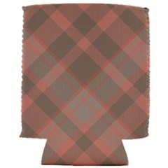 Tartan Scotland Seamless Plaid Pattern Vintage Check Color Square Geometric Texture Can Holder