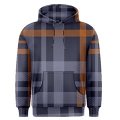 Seamless Pattern Check Fabric Texture Men s Core Hoodie