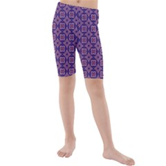 Df Alternia Kids  Mid Length Swim Shorts by deformigo