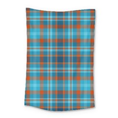 Tartan Scotland Seamless Plaid Pattern Vintage Check Color Square Geometric Texture Small Tapestry
