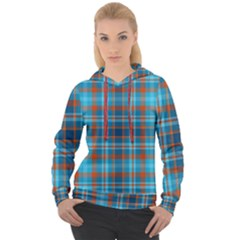 Tartan Scotland Seamless Plaid Pattern Vintage Check Color Square Geometric Texture Women s Overhead Hoodie