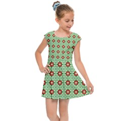 Df Bruce Willheard Kids  Cap Sleeve Dress by deformigo
