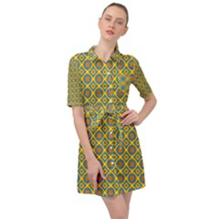 Ryan Willmer Belted Shirt Dress by deformigo