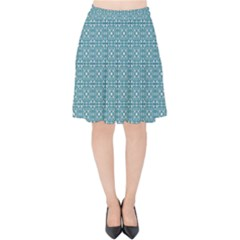 Df Tadeo Di Palma Velvet High Waist Skirt by deformigo
