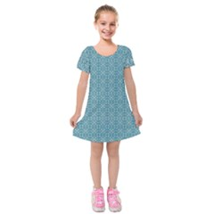 Df Tadeo Di Palma Kids  Short Sleeve Velvet Dress by deformigo