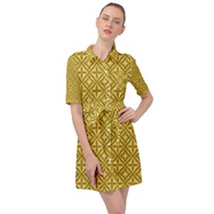 Df Latiya Belted Shirt Dress by deformigo