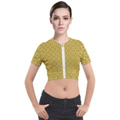 Df Latiya Short Sleeve Cropped Jacket by deformigo