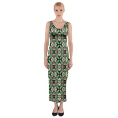 Soul Reflection Fitted Maxi Dress by deformigo