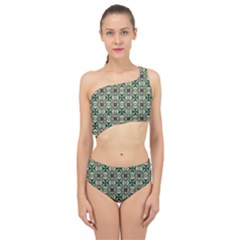 Soul Reflection Spliced Up Two Piece Swimsuit by deformigo