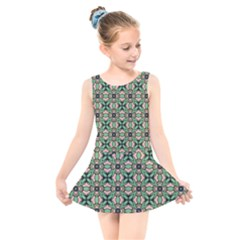 Soul Reflection Kids  Skater Dress Swimsuit by deformigo