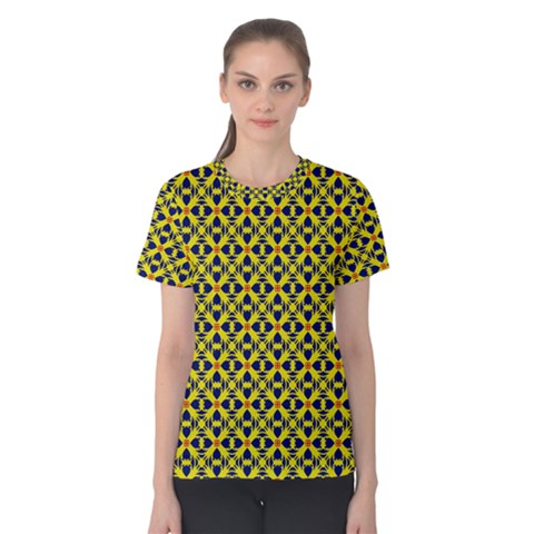 Df Sanhita Manjul Women s Cotton Tee by deformigo